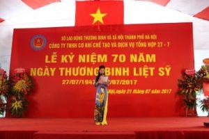 Lễ kỷ niệm 70 năm ngày thương binh liệt sĩ