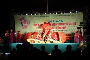 Liên hoan tuyên truyền lưu động thành phố Hà Nội