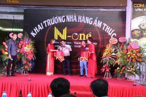 Tổ chức sự kiện khai trương nhà hàng ẩm thực N-one