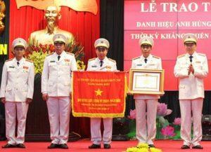 Lễ đón nhận danh hiệu AHLLVTND trại giam số 6