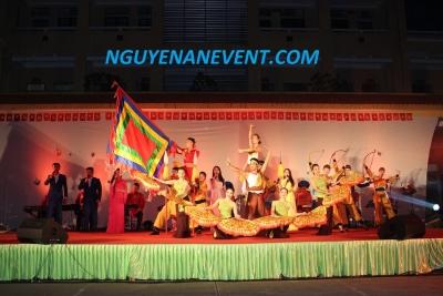 Biểu diễn nghệ thuật chào mừng ngày truyền thống - Nguyenanevent