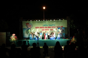 Tuyên truyền lưu động thành phố Hà Nội