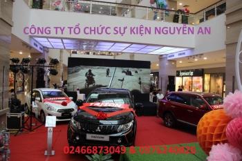 Lễ ra mắt sản phẩm hãng xe hơi Mitsubishi