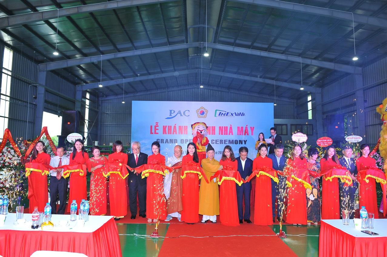 Khánh thành nhà máy PAC Hưng Yên