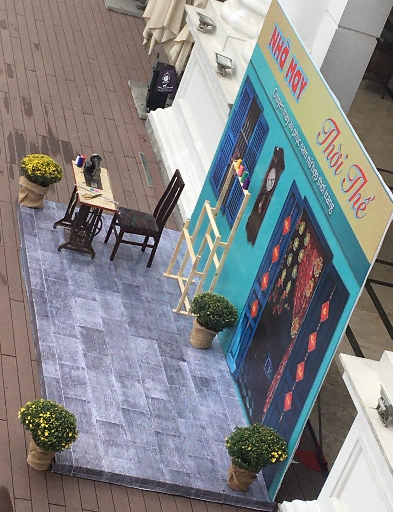 Thi công backdrop tại Hà Nội - Sự kiện Nguyễn An