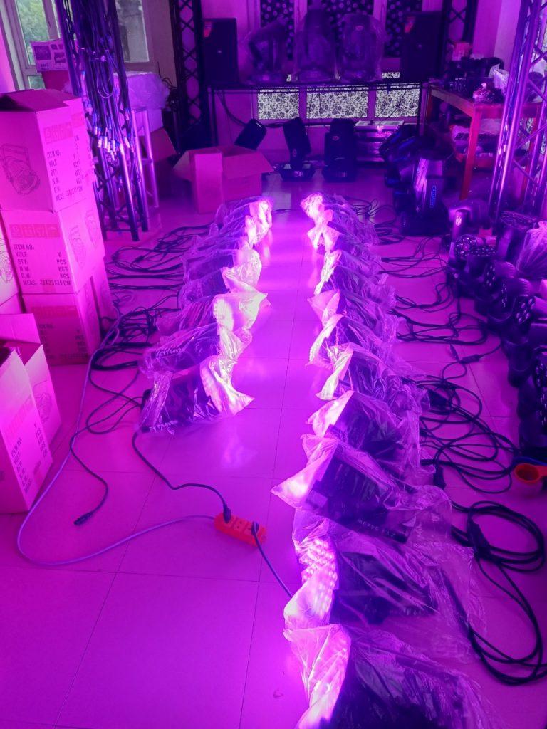 Bán đèn sân khấu tại Hải Dương / Công ty Nguyễn An cho thuê thiết bị
