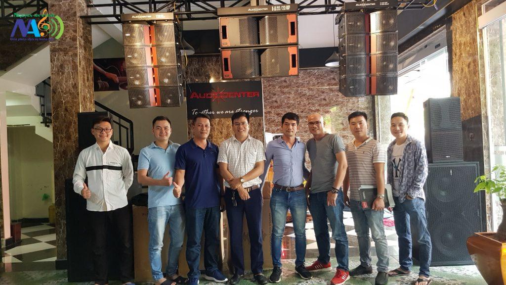 Bán âm thanh sân khấu Audiocenter tại Nghệ An 0976240826