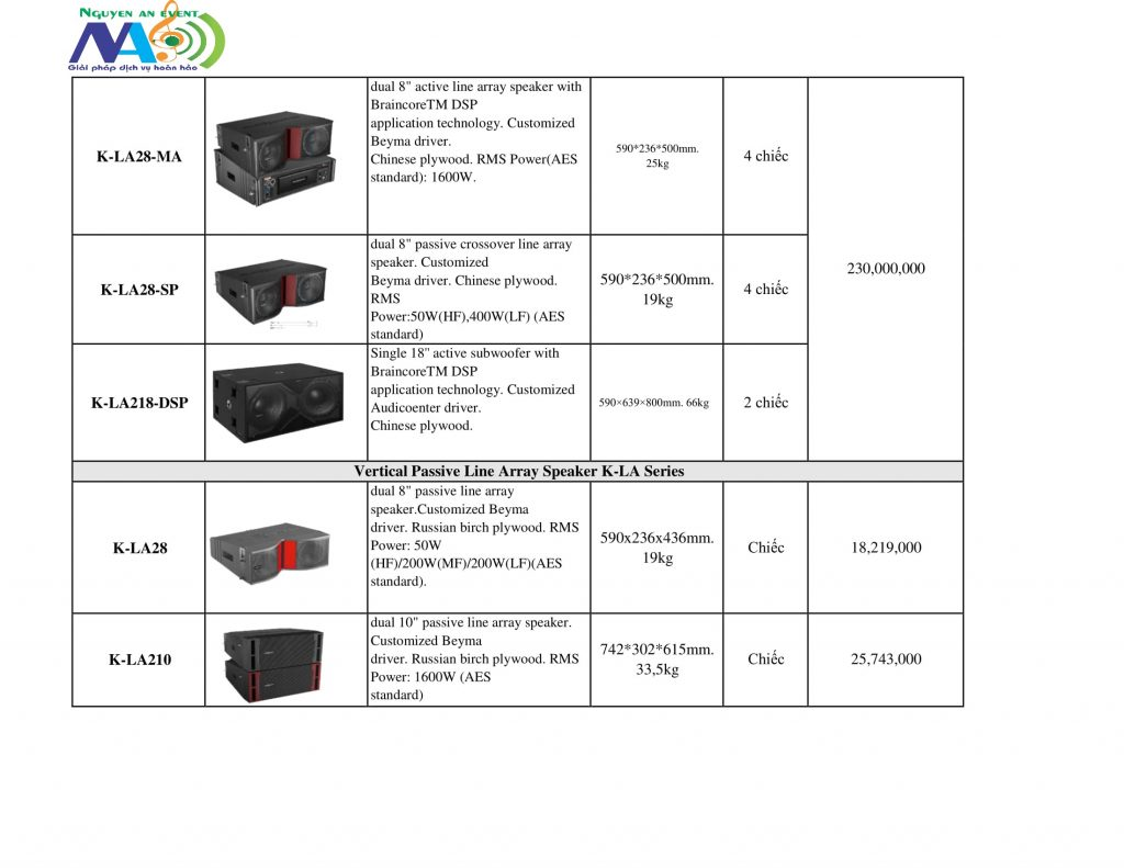 Bán audiocenter ,âm thanh biểu diễn tại Hà Nội/công ty sự kiện Nguyễn An