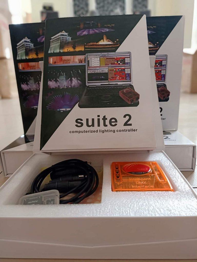Bàn điều khiển ánh sáng suite 2/ công ty Nguyễn An